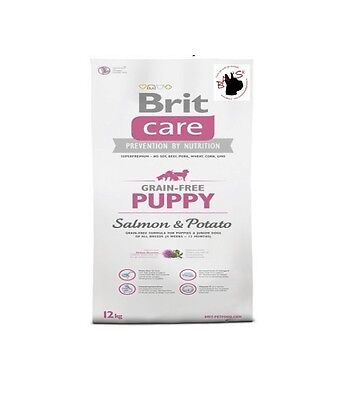 Brit Care Puppy Salmone Patate 12kg - 730