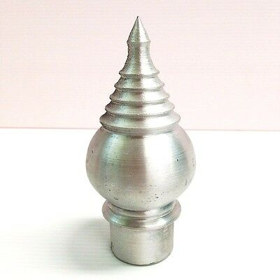 "Lotus Buddhism 1 Aluminium Finial Asian Style 1""x4.5"" Architectural Parts Decor"