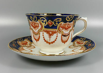 Royal Albert Pattern Number 4250 (Imari Style) Tea Cup And Saucer