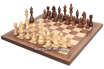 Premium Wooden Board Game Chess Set Travelling Games Classic Chess UK SELLER