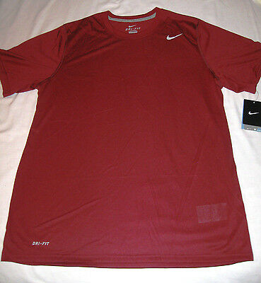 Nike Legend Dri-Fit Poly Training Tee NWT Large Team Red