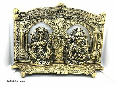 Lord Ganesha Ganesh Lakshmi Laxmi Statue Antique Temple Indian Diwali Puja Gift