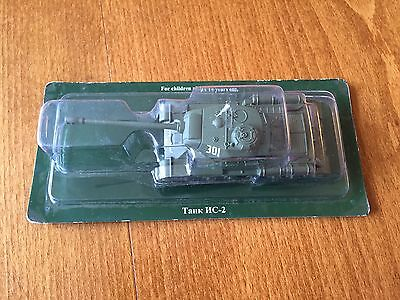 1:72 Scale Diecast Russian Tank HC-2 - New & Sealed