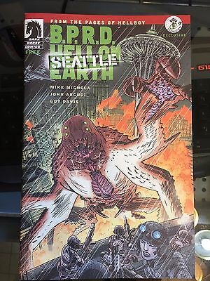 BPRD Hell On Earth Seattle ECCC Exclusive Variant Dark Horse Comic Book New 9.2