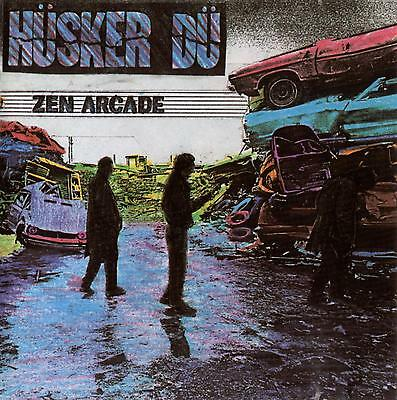 Parche imprimido /Iron on patch, Back patch, Espaldera / - Hüsker Dü, D