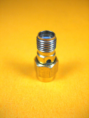 Connector -  SMA Male to SMA Female -  Gold Finish S/M