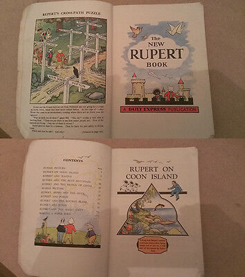 The New Rupert Book Annual 1946 In Excellent Collectible Condition