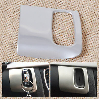 Car Stainless Steel Dash Ignition keyhole Cover Trim 3D sticker for Audi A4 A5