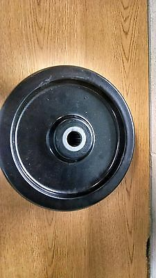 Industrial Hard Plastic Wheel 12X3X1 1/4 Bore