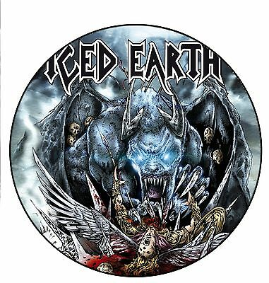 Parche imprimido /Iron on patch, Back patch, Espaldera / - Iced Earth, E