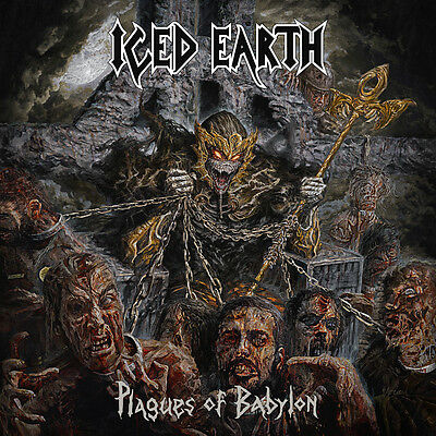 Parche imprimido /Iron on patch, Back patch, Espaldera / - Iced Earth, I