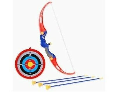 Kings Sport Toy Archery Bow And Arrow Set for Kids With Suction Cup Arrows An...