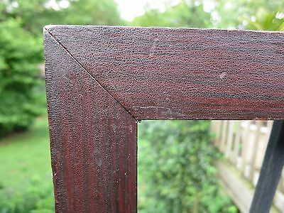 1840 Excellent AMERICAN Stripe GRAIN PAINTED Folk Primitive FRAKTUR Antique Frme