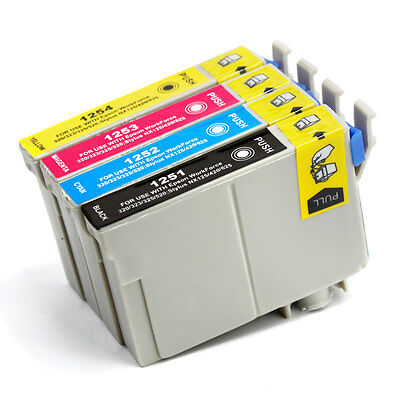 4PK ink for Epson T125 NX125 NX127 NX130 NX230 NX420 NX530 NX625 320 323 325 520