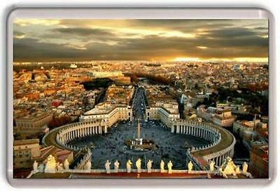 Vatican City St Pauls Rome Fridge Magnet 01