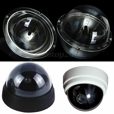 4 Inch Clear Acrylic Monitoring Camera Cover Dome Housing for CCTV Replacement