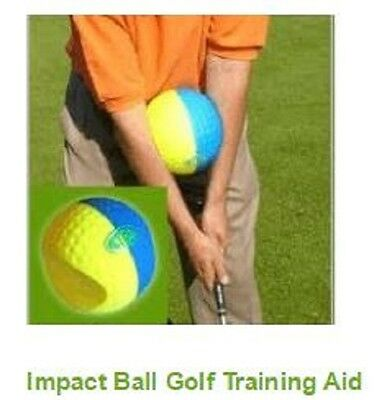 Impact Ball golf training aid - Golf's most effective training aid! Best seller!