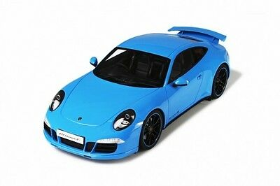 GT Spirit Porsche 911 (991) Carrera 4S Model Car Blue 1:18 Genuine New