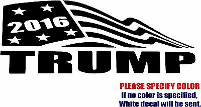 Donald Trump For President #3 Decal Sticker Funny Vinyl Car Window Bumper 7""