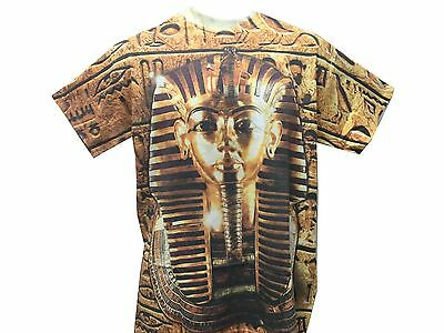 King Tut Tutankhamun Pharaoh Egypt Ancient Egyptian Men's T Shirt 2 Styles
