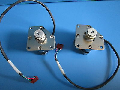 Asyst 9700-6354-01 Stepper Motor Assembly Vexta Oriental# PK243M-01AA - Lot of 2