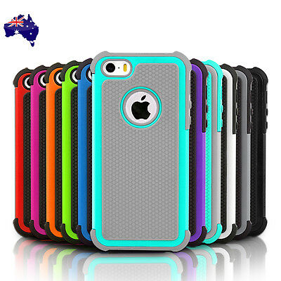 Heavy Duty Silicone Tough Shockproof Slim Armor Case Cover For Apple iPhone 5C