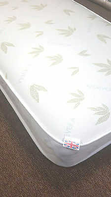 "(av051) Aloe Vera 6""  Memory foam Mattress , 6"" single double king shorty  3/4"