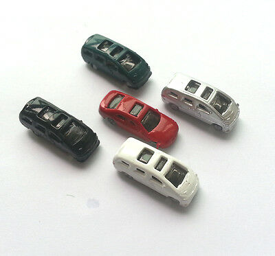 5 x Model Cars Vehicles 1:200 Z Scale Railway Layout Architecture Toy NEW