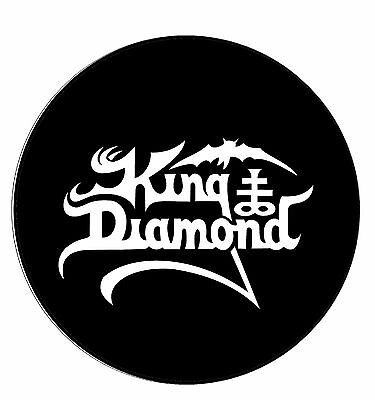 Parche imprimido, Iron on patch, Back patch, Espaldera - King Diamond, D