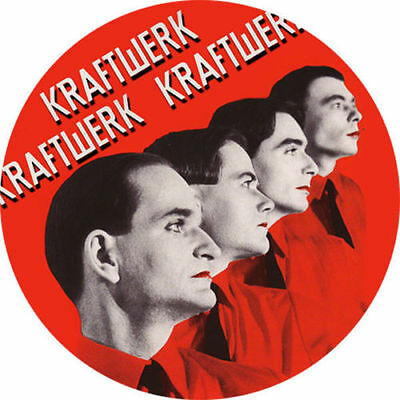 Parche imprimido /Iron on patch, Back patch, Espaldera / - Kraftwerk