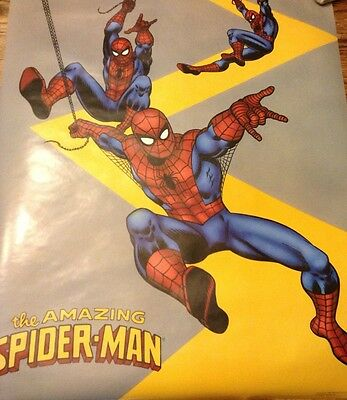 Lot of 7 vintage 1980's and early 90's Marvel Comics Posters original packaging