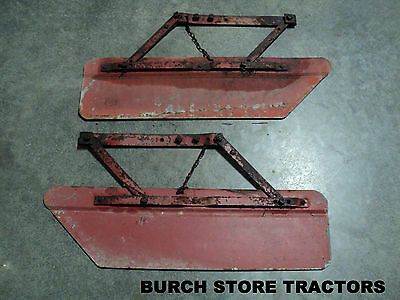 PAIR of PITTSBURGH CULTIVATOR SHIELDS