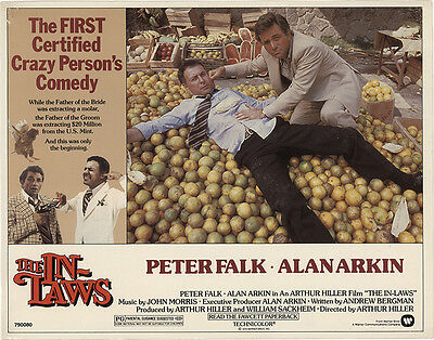 The In-Laws 1979 Original Movie Poster Adventure Comedy Crime