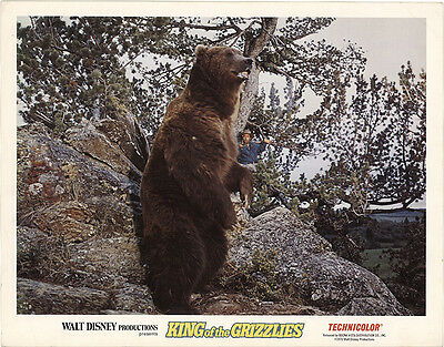 King of the Grizzlies 1970 Original Movie Poster Family Western