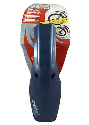 Zefal KAA Bike Fender Mud Guard for Suspenion Fork - Blue Plastic Mudguard
