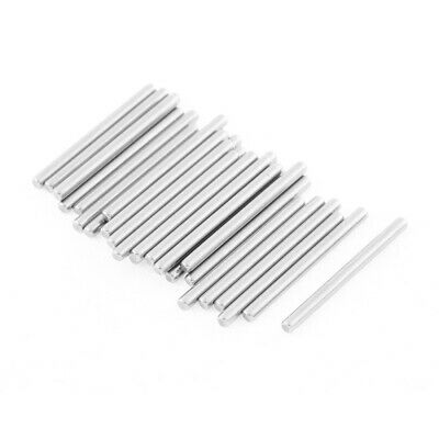 M2x25mm Stainless Steel Straight Retaining Dowel Pins Rod Fasten Elements 30 Pcs