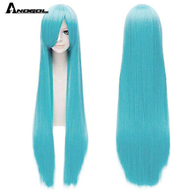 Blonde Lace Front Wig Synthetic Ombre Long Straight Party Full Women's Hair Wigs