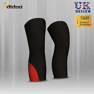 Mens New Compression Knee Warmer baselayer body armour skin tight fitness gear