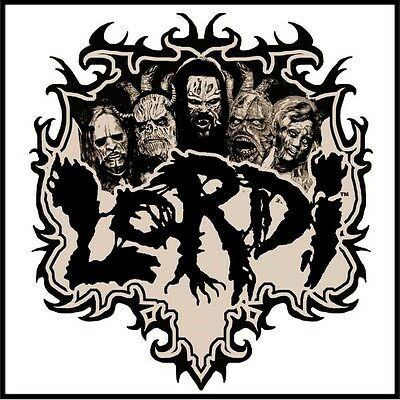 Parche imprimido /Iron on patch, Back patch, Espaldera / - Lordi