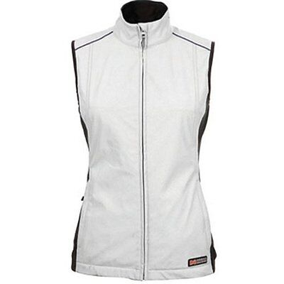 Womens Ansai Mobile Warming Cypress Jackii Battery Heated Electric Vest Silver