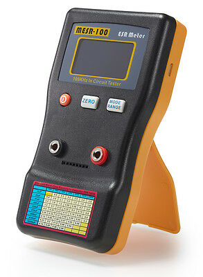 MESR100 V2 AutoRanging In Circuit ESR Capacitor Meter Tester Up to 0.001 to 100R