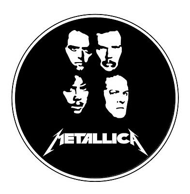 Parche imprimido /Iron on patch, Back patch, Espaldera / - Metallica, G
