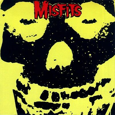 Parche imprimido /Iron on patch, Back patch, Espaldera / -The Misfits, D