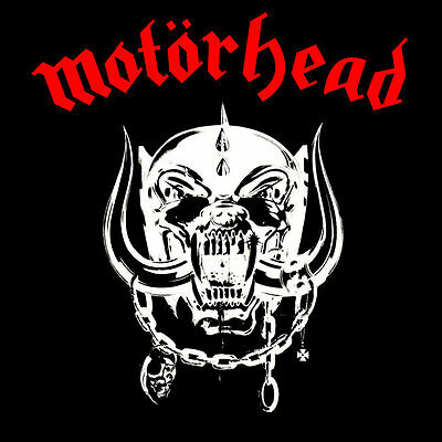 Parche imprimido /Iron on patch, Back patch, Espaldera / - Motorhead, F