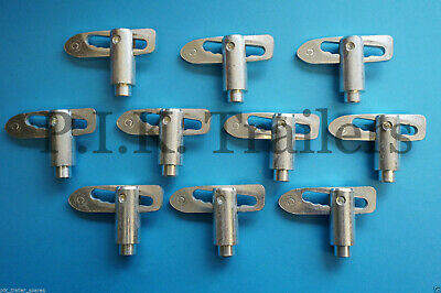 10 x Antiluce 12mm Weld-on LONG SHOULDER Drop Catch Tail Gate Fasteners