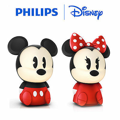 Philips Disney SoftPal Portable LED Night Light Table Lamp - Mickey, Minnie
