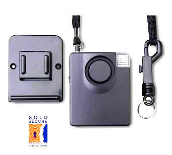 Personal Siren Alarm IIIT Secured By Design & Sold Secure Accredited.