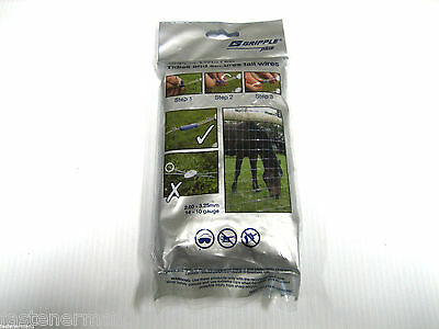 (100) Genuine Gripple Plus TWISTER-Secure tail wires - 2-3.25mm  Made in England