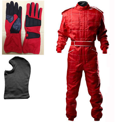 Go Kart Cordura Suit Red ( Free Gift - Gloves and Balaclava )