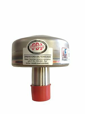 Water Hammer Arrestors - Stainless Steel